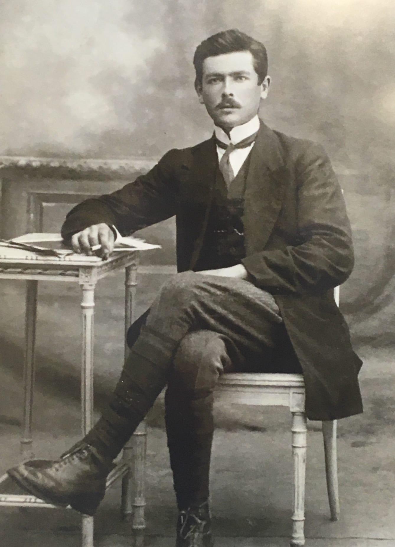 Victor Rahuel, fondateur de notre scierie en Bretagne RahuelBois